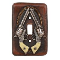 Pistol Single Switch Cover - CLEARANCE