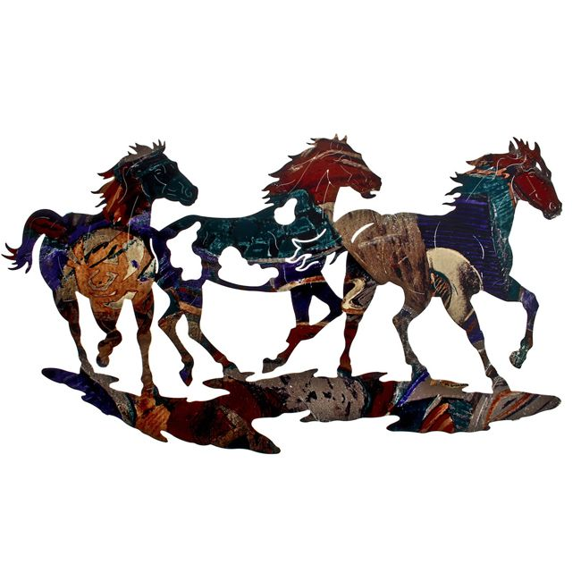 Ponies on the Run Wall Hanging