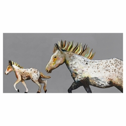 Pony Gallop Canvas Art