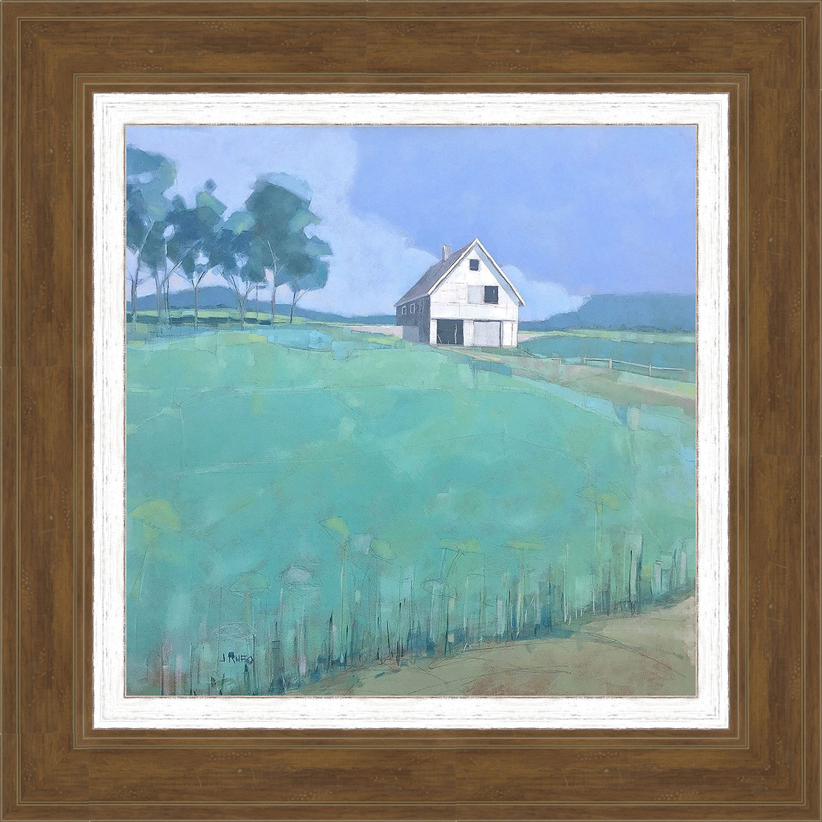 Prairie Barn Framed Wall Art