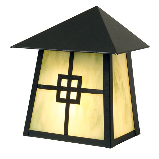 Prairie Tri Roof Indoor/Outdoor Sconce