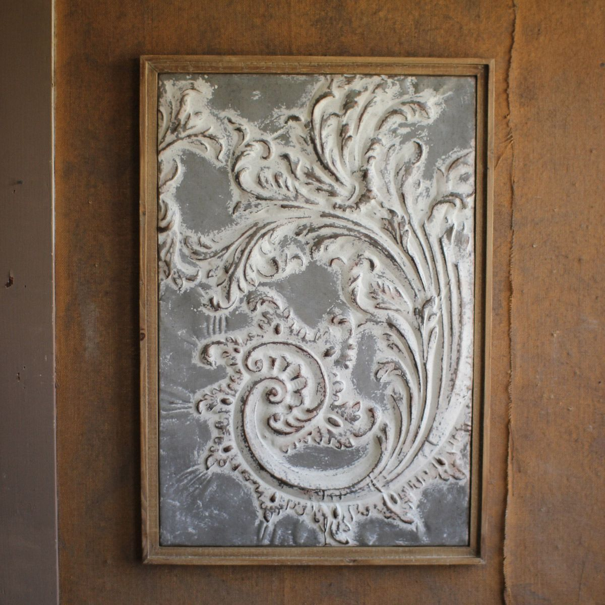 Pressed Paisley Framed Wall Art