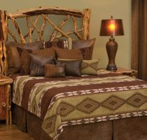 Pueblo Heather Coverlet - Super King