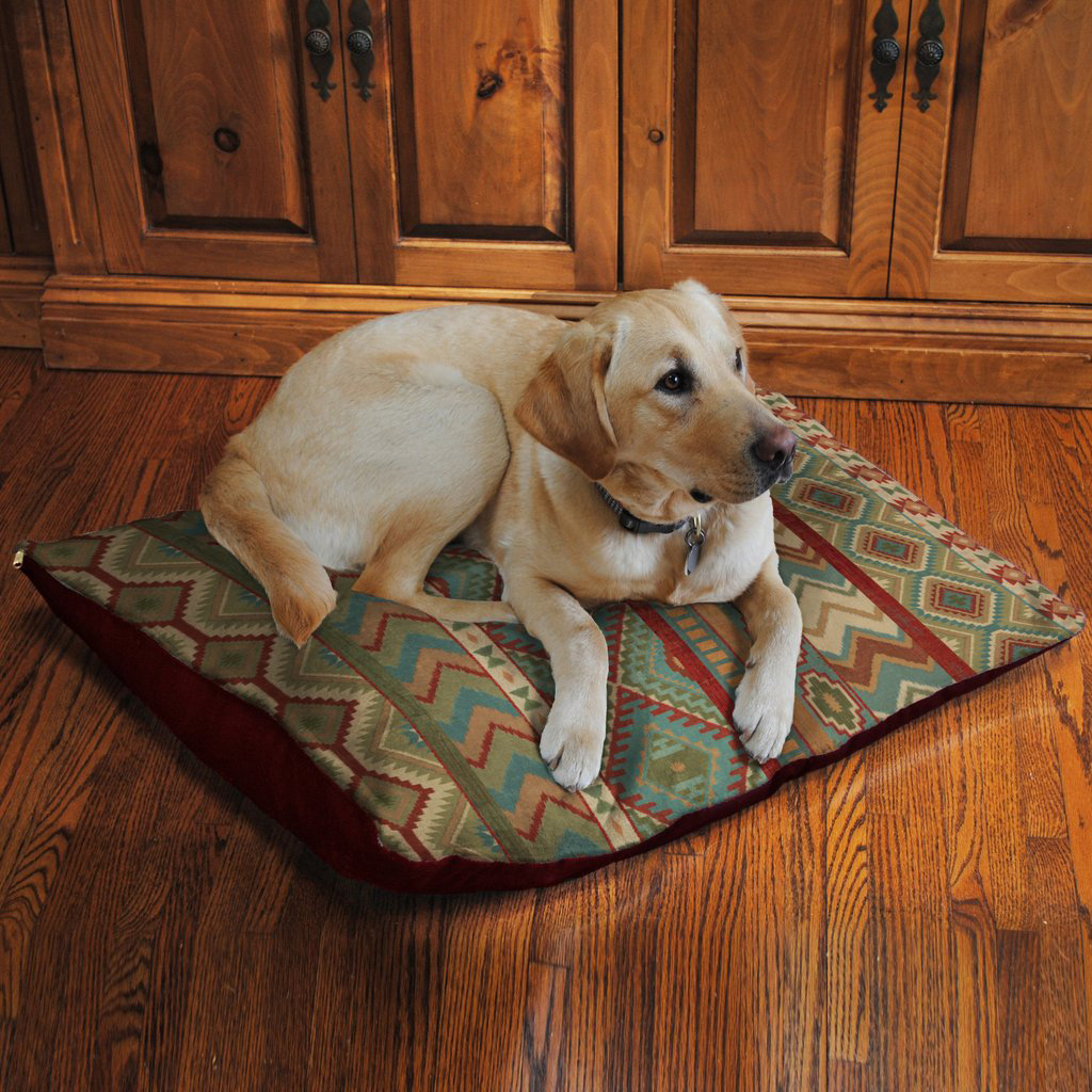 Pueblo Valley Fleece Dog Bed