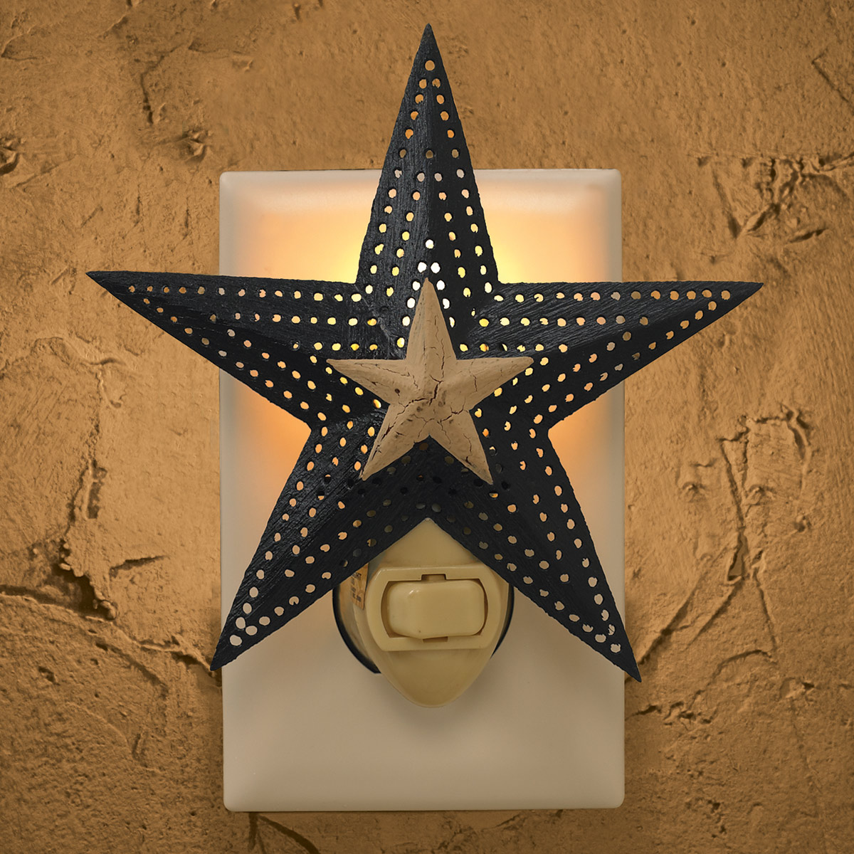Punched Star Nightlight