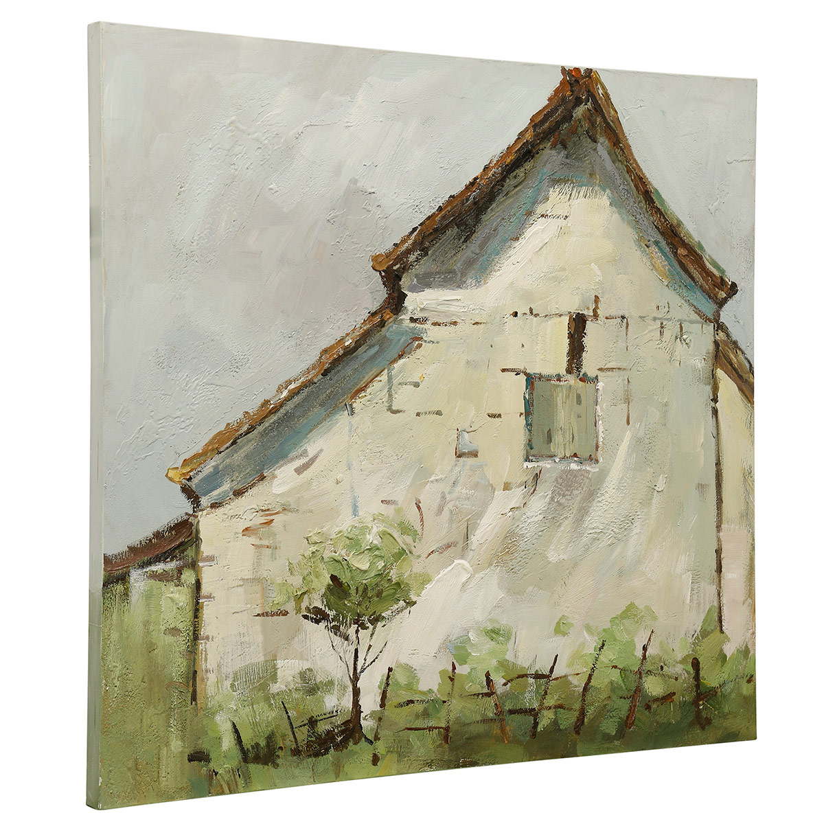 Quaint Farmhouse Canvas Wall Art