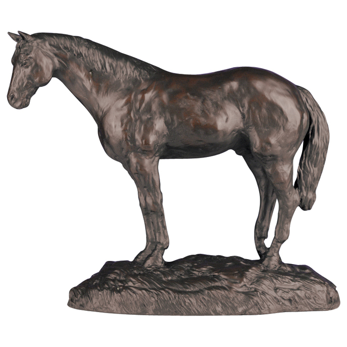 Quarter Horse Sculpture