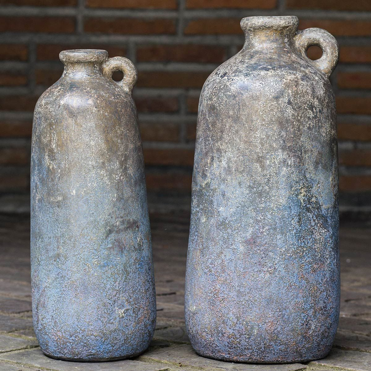 Ragini Terracotta Bottles - Set of 2