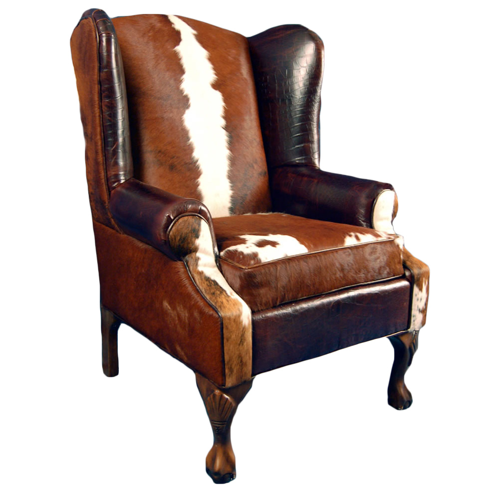 Railroadsman's Wing Back Chair