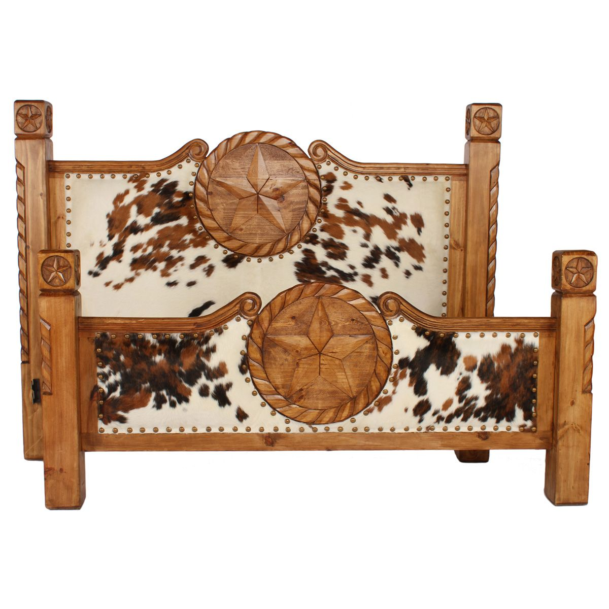Ranch Collection Cowboy Bed - King