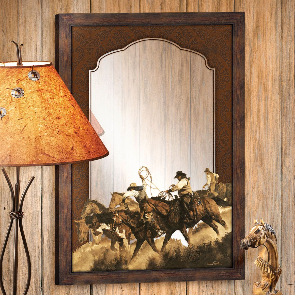 Ranch Hand Wall Mirror