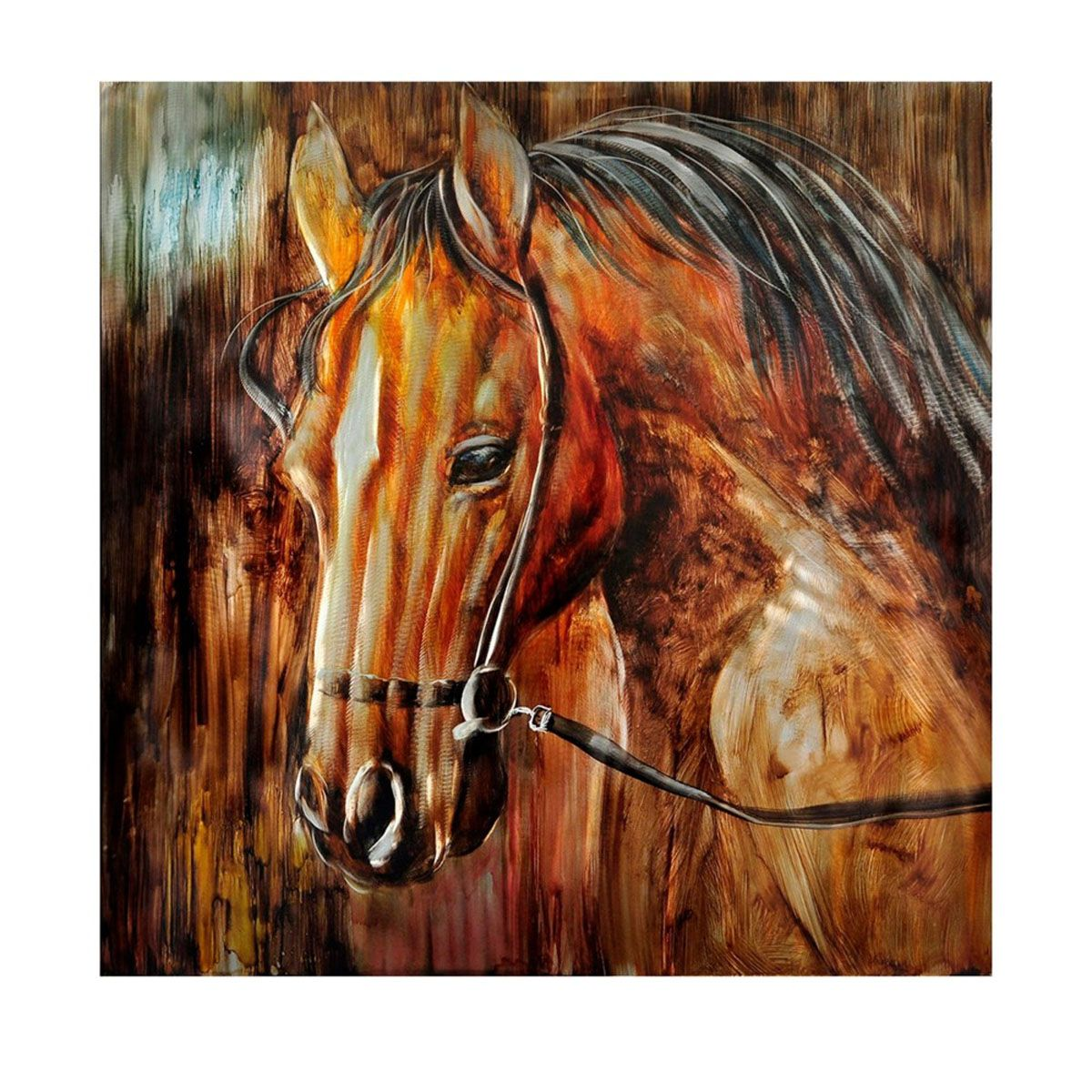 Ranch King Metal Wall Art