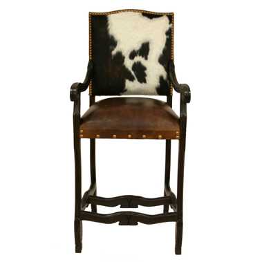 Ranch Regency Barstool with Arms