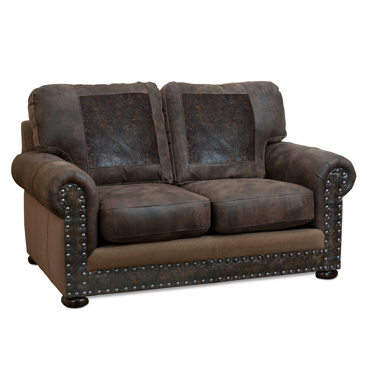 Miraculous Rancher Stallone Timber Loveseat Camellatalisay Diy Chair Ideas Camellatalisaycom