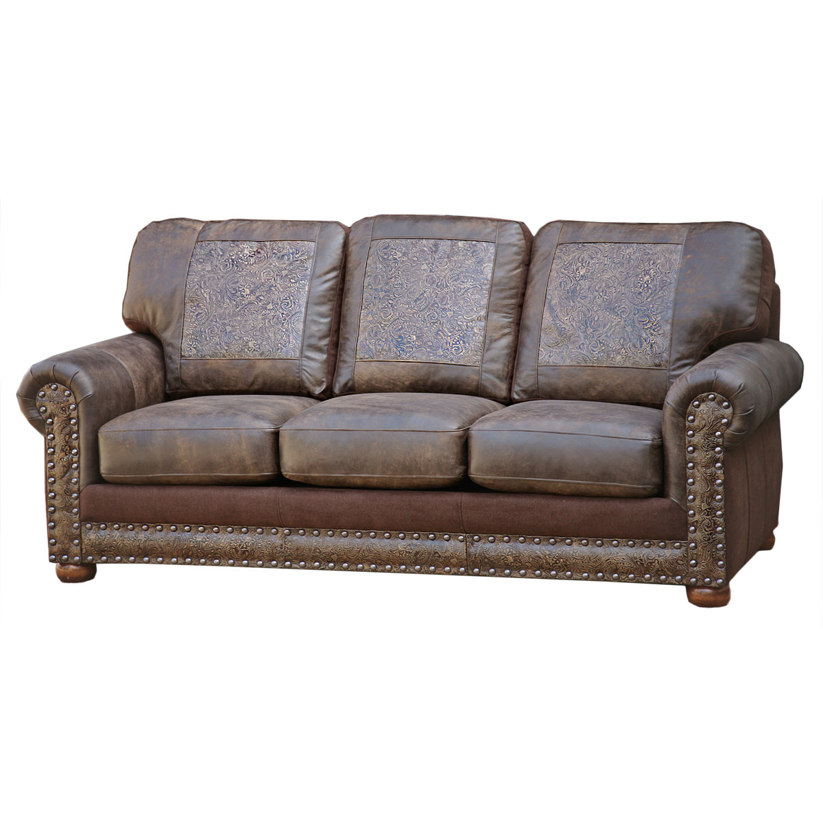Attirant Rancher Stallone Timber Sofa