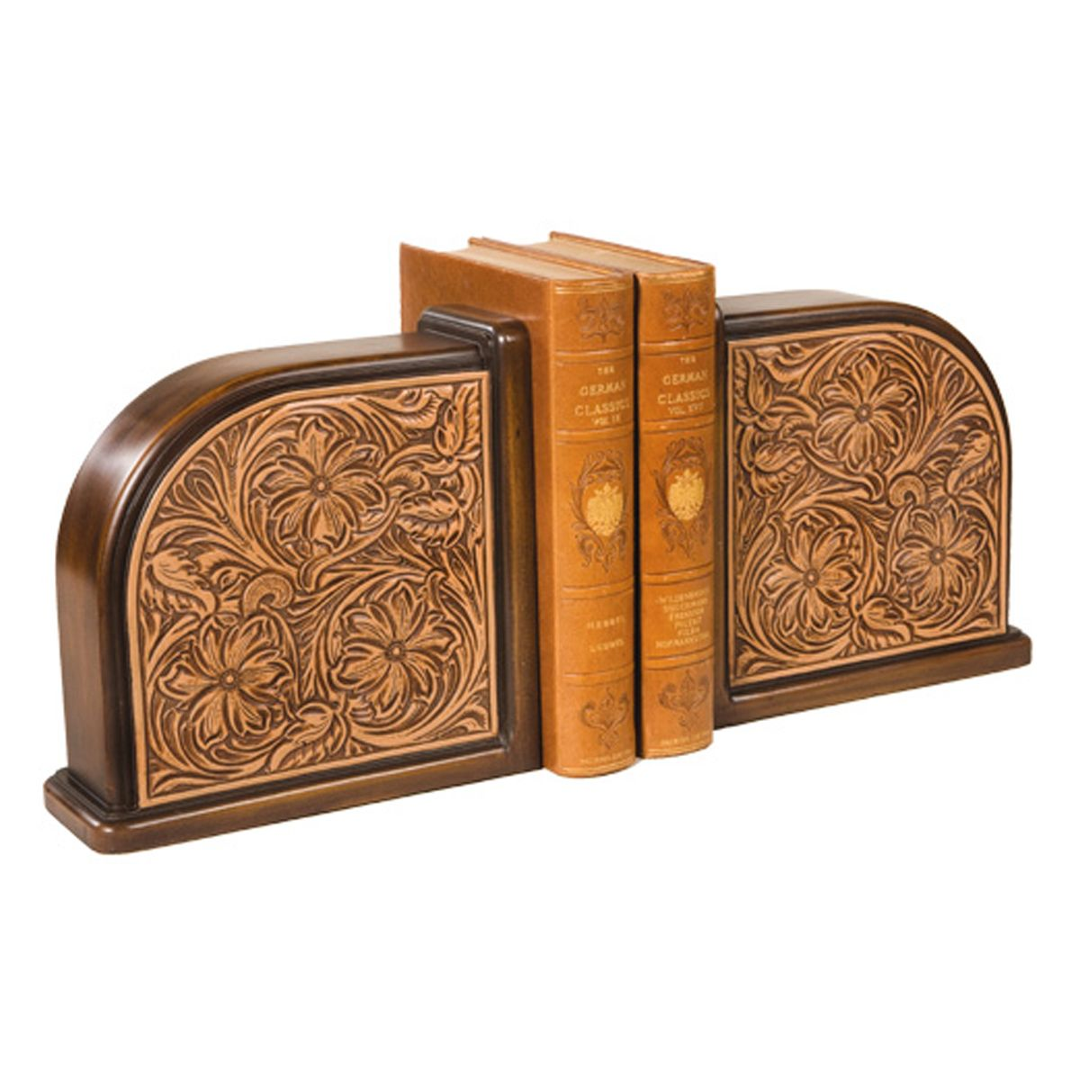 Rebecca Tooled Bookends
