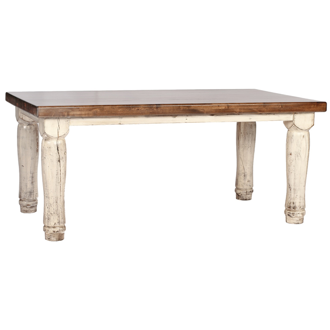 Rectangle Augustus Dining Table - 6 Foot