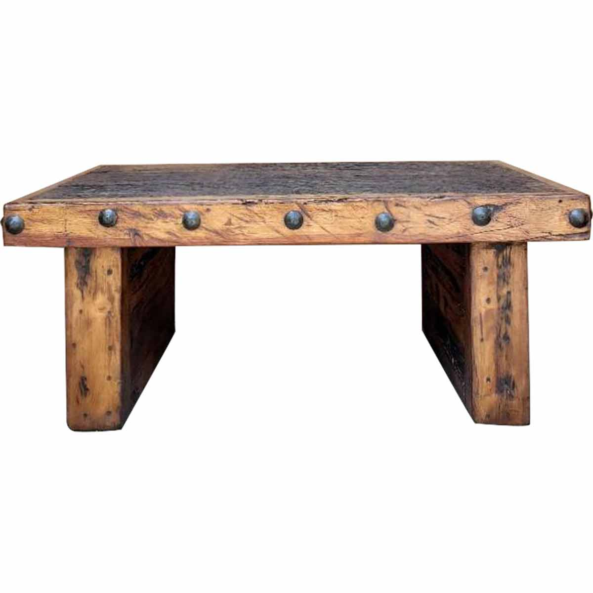 Recycled Wood Beam Table