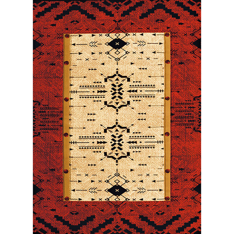 Red Arrows Rug - 3 x 4