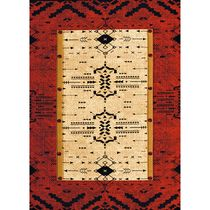 Red Arrows Rug - 5 x 8