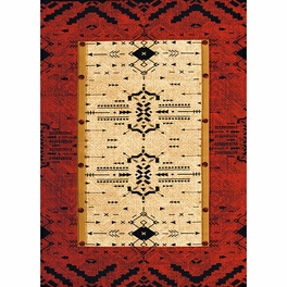 Red Arrows Rug Collection