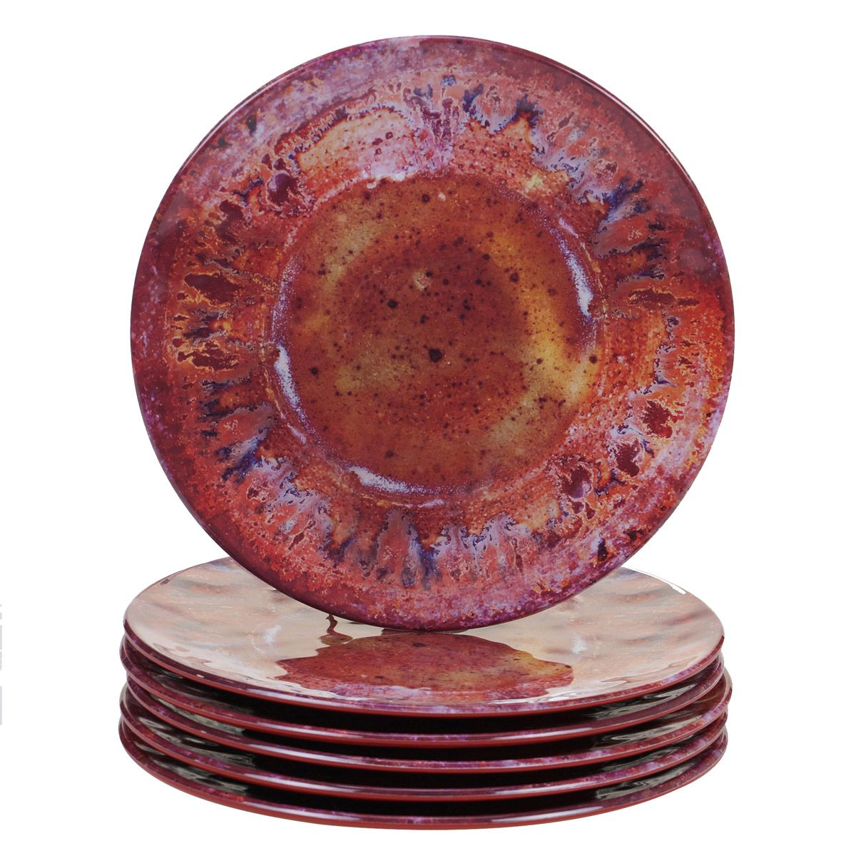 Red Canyon Melamine Salad Plate