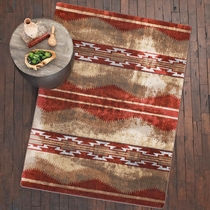 Red Canyon Natural Rug - 5 x 8