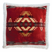 Red Canyon Plush Pillow