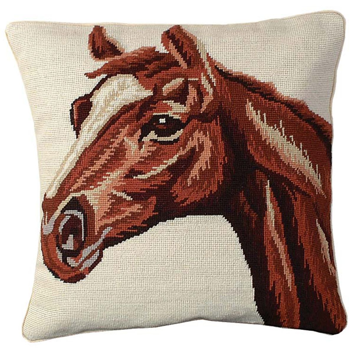 Red Horse Pillow