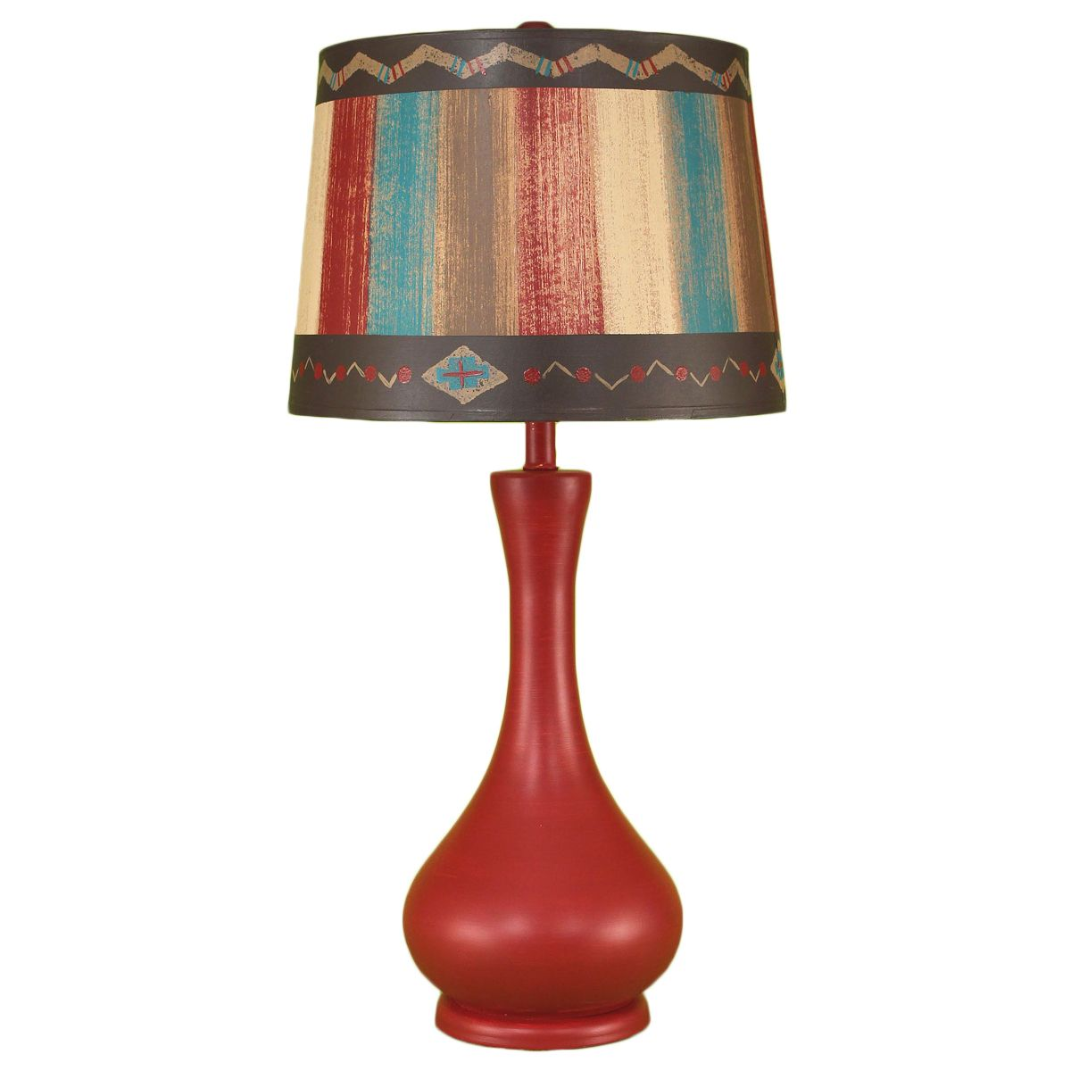 Red Jar Southwest Table Lamp