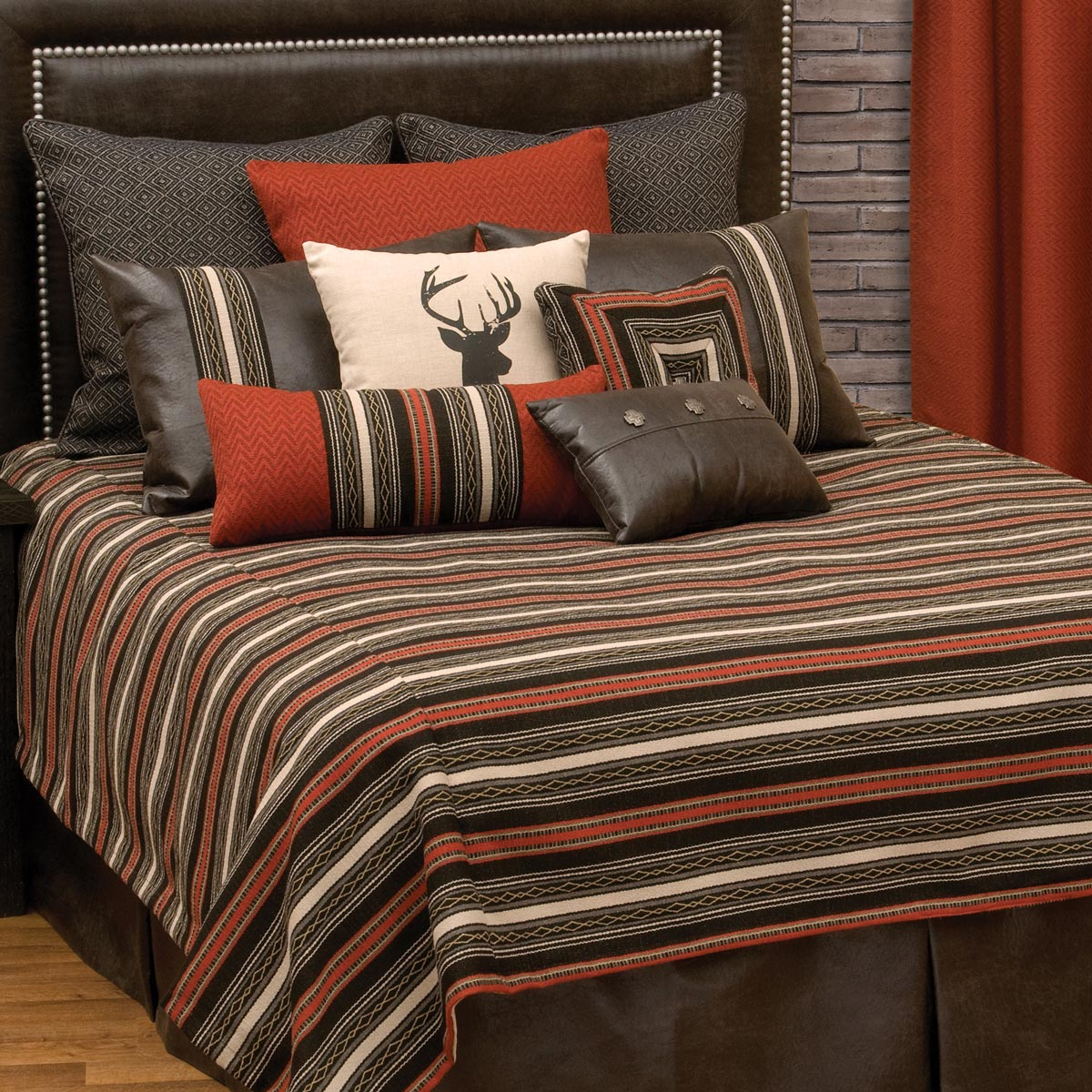 Red Pepper Basic Bed Set - Cal King