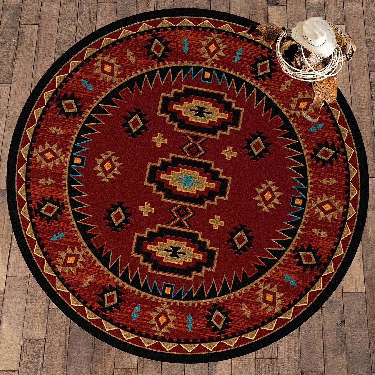 Round Kitchen Table Rug Ideas