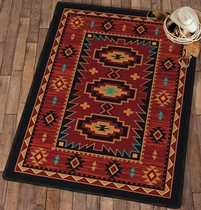 Red River Rug - 3 x 4