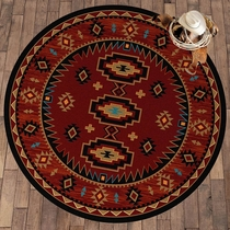 Red River Rug - 8 Ft. Round