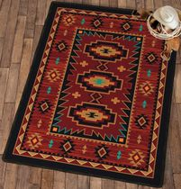 Red River Rug - 8 x 11