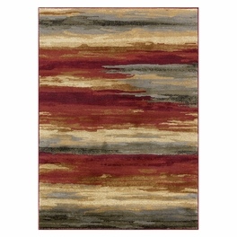 Red Sand Strata Rug Collection