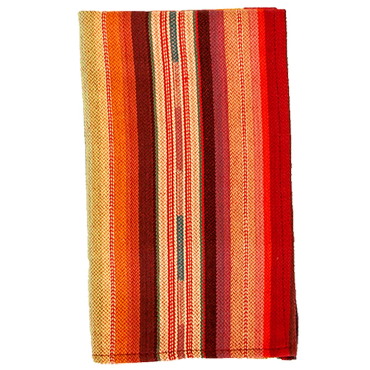 Red Serape Napkins - Set of 4