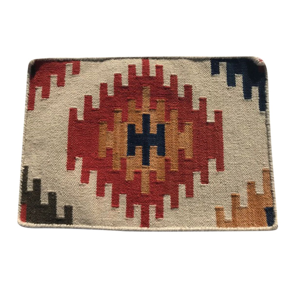 Red Sun Kilim Placemat