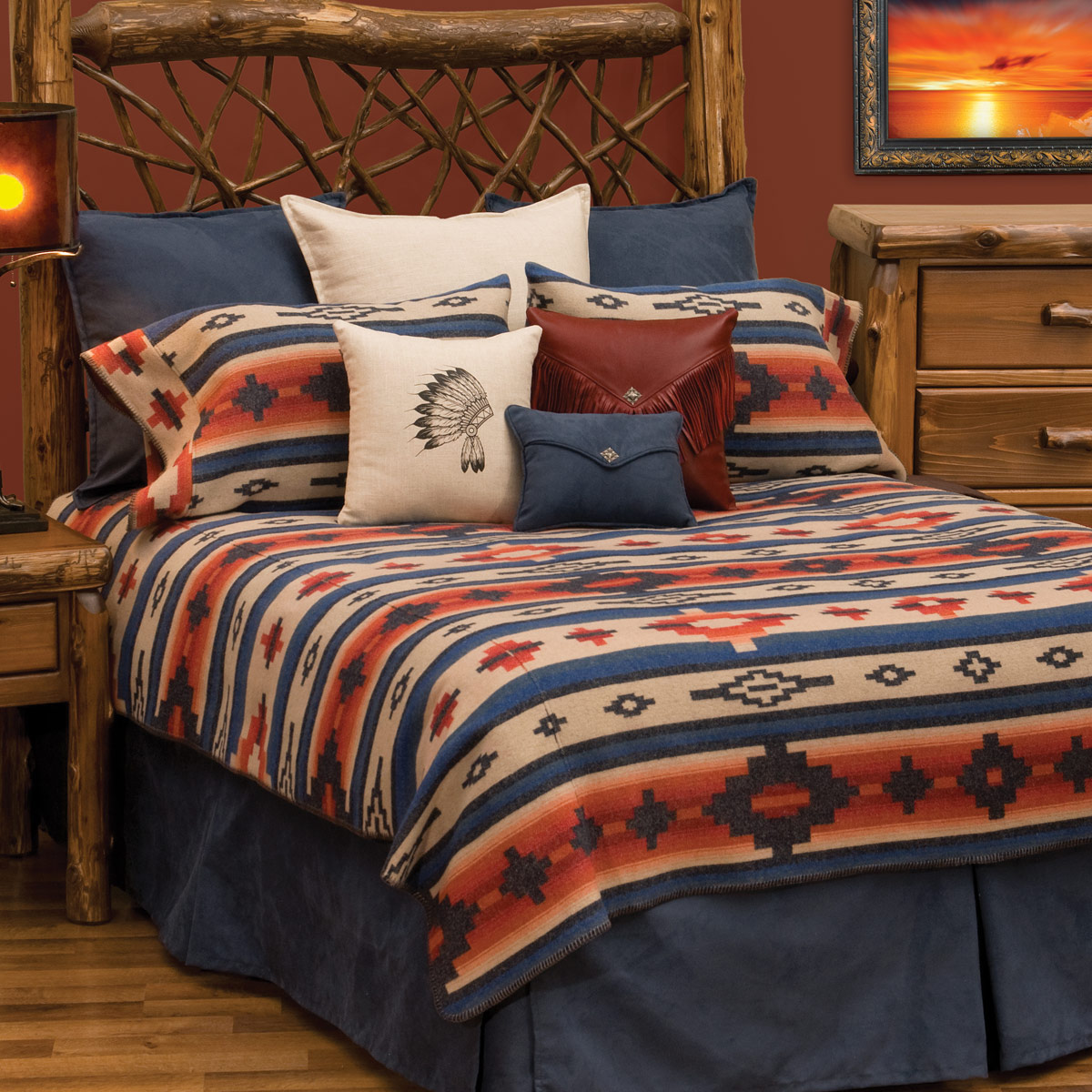 Redrock Canyon Deluxe Bed Set - Super King