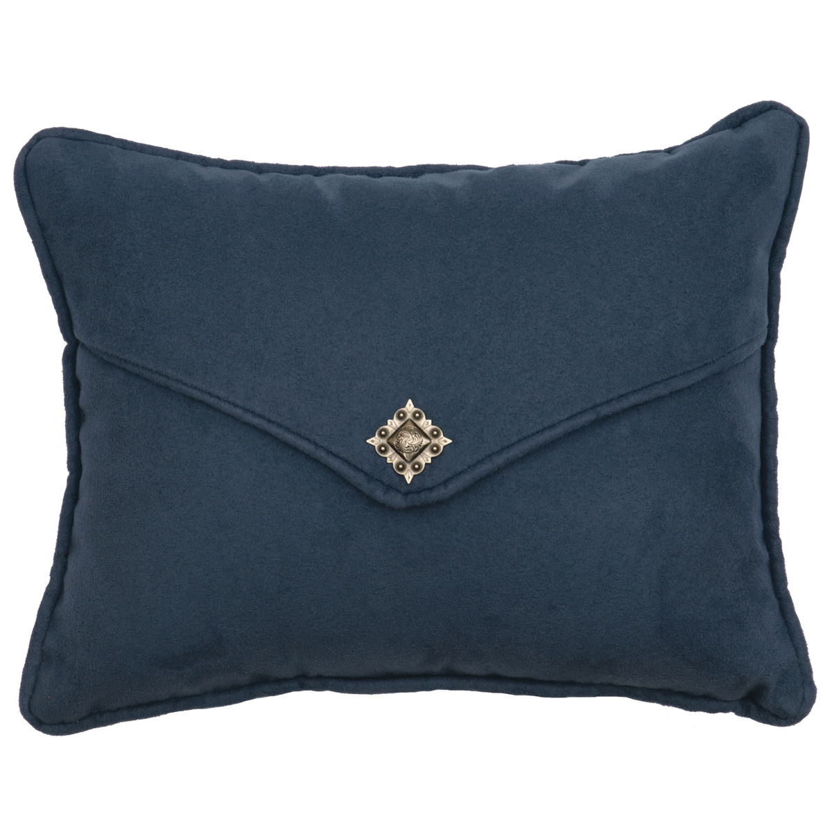 Redrock Canyon Navy Flap Pillow