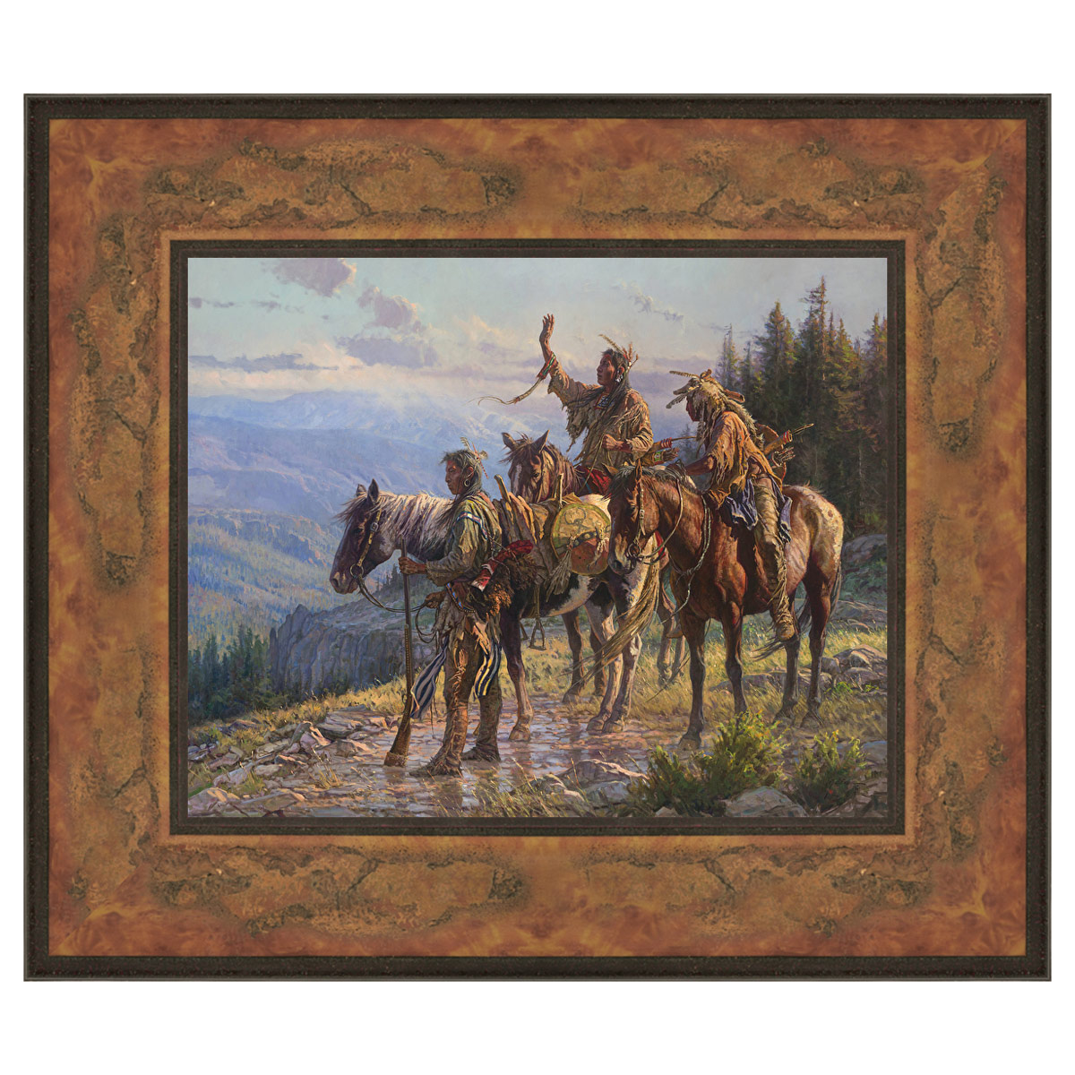 Reverence Framed Canvas