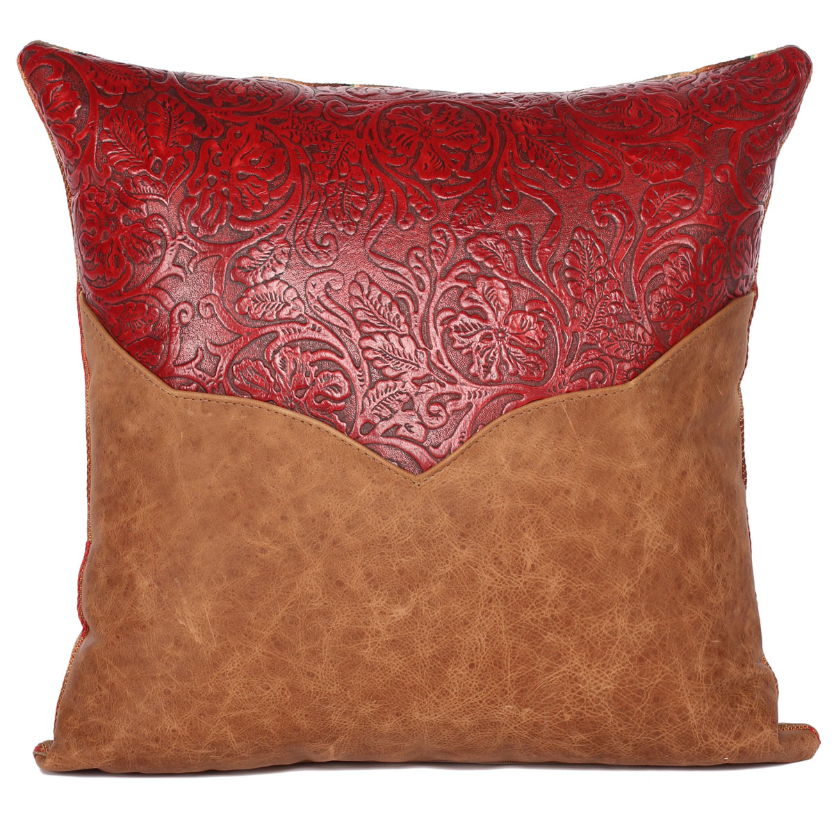 Riata Rose Accent Pillow - 18 x 18