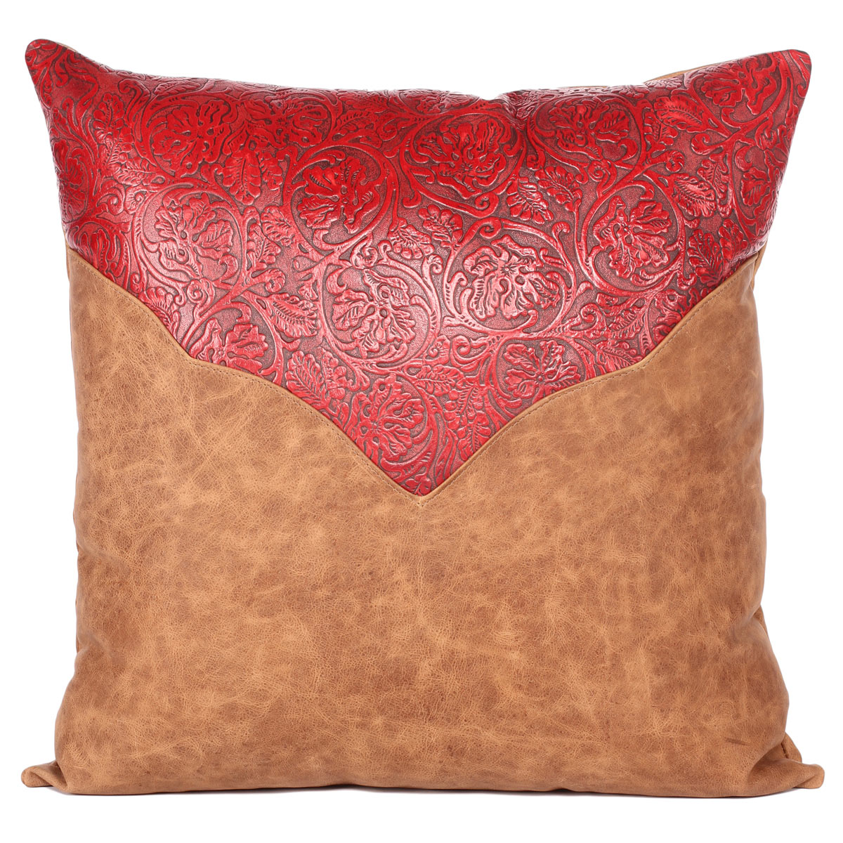 Riata Rose Accent Pillow - 24 x 24