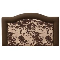 Ridge Udder Brown Headboard - Queen
