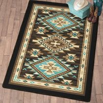 Rimrock Canyon Rug - 8 Ft. Square