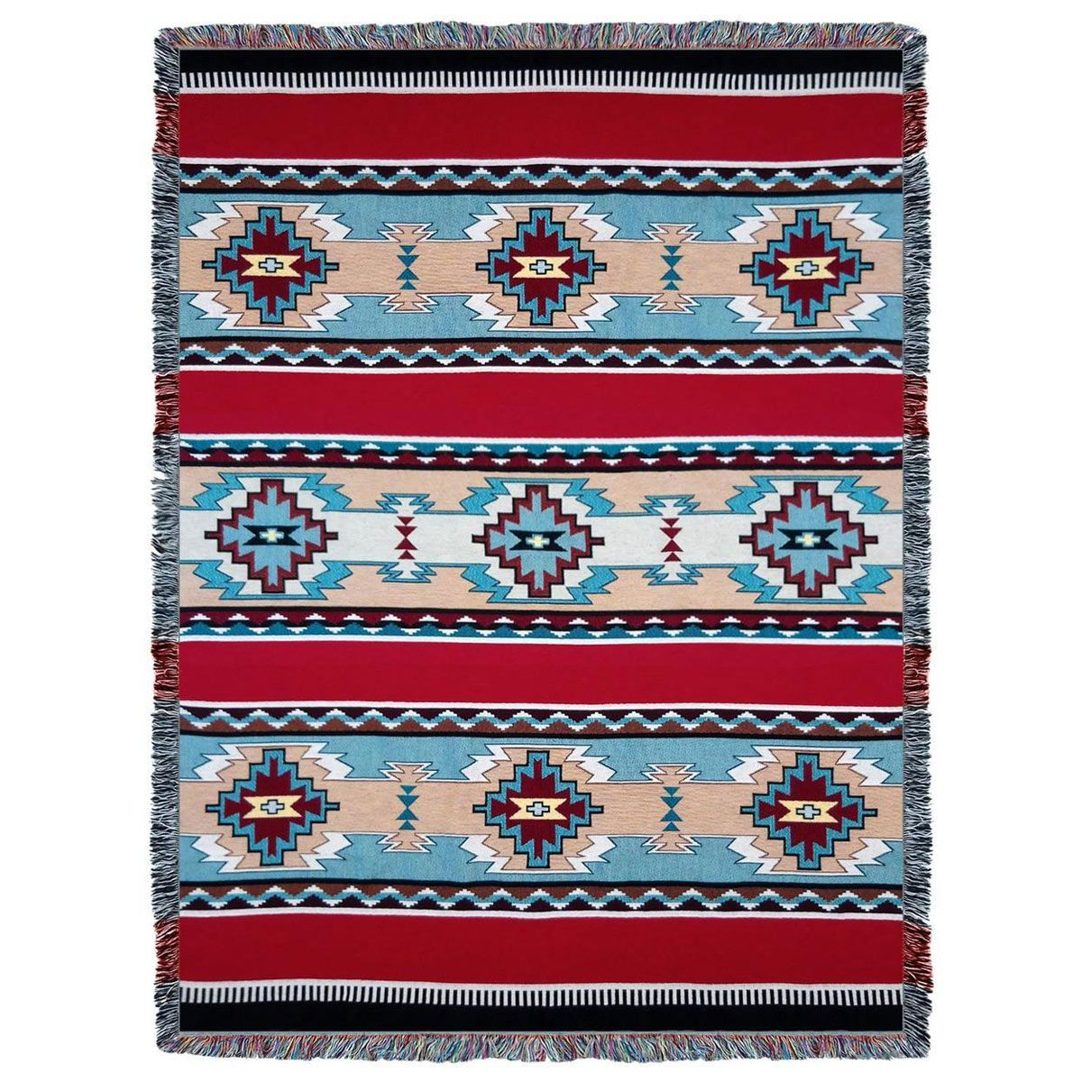 Rimrock Red Tapestry Throw