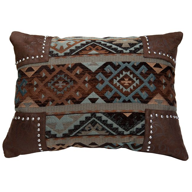 Rio Grande Navajo Scalloped Pillow