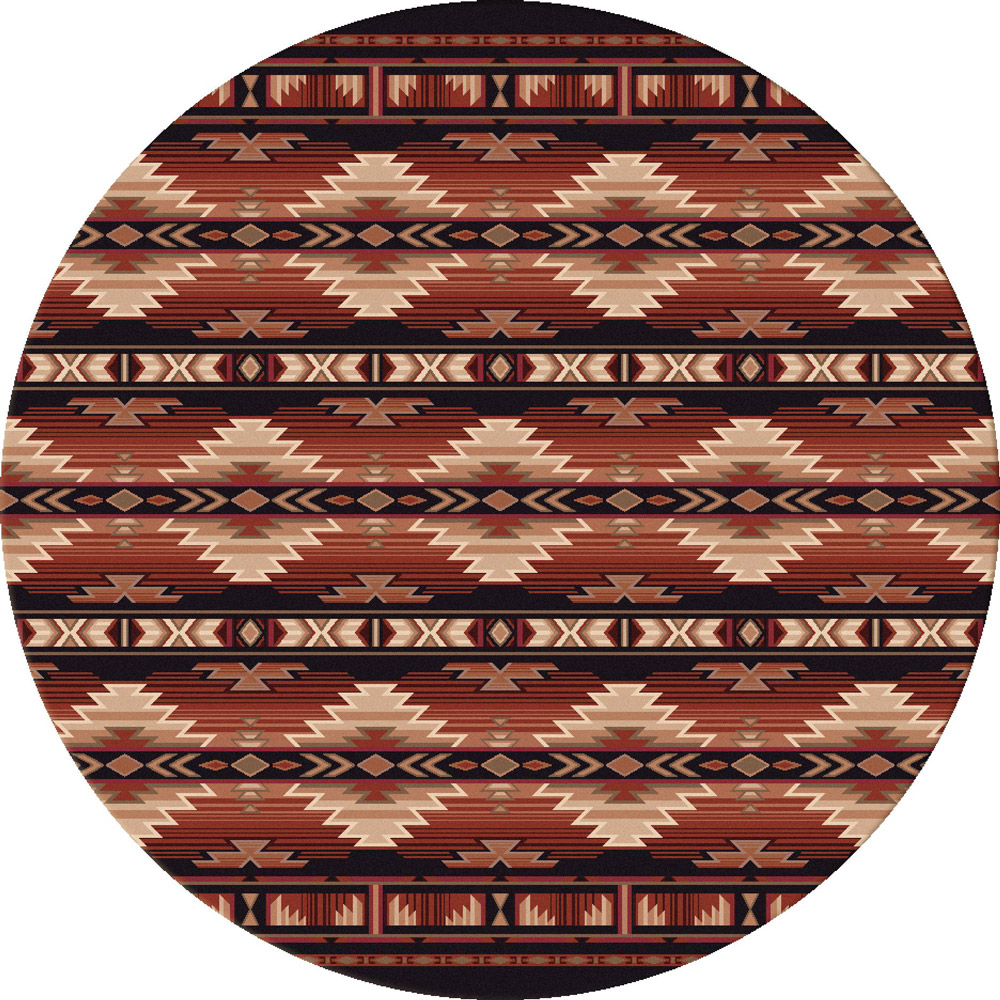 Rio Rancho Russet Rug - 8 Ft. Round