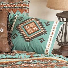 Rio Turquoise Accent Pillow