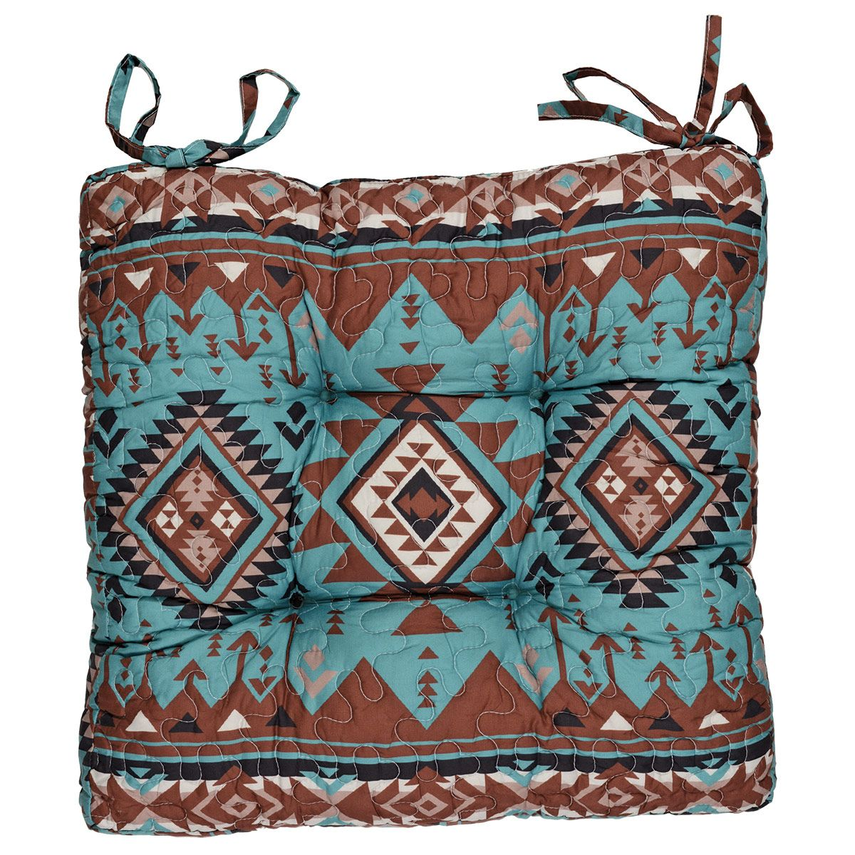 Rio Turquoise Chair Pad